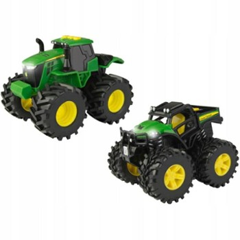 TOMY john deere traktor monster 2-pack