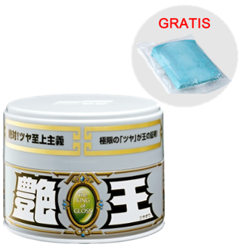 SOFT99 The King of Gloss Light Metallic & Pearl 300g + Smooth Egg Clay Bar Gratis