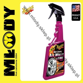Meguiar's Hot Rims Wheel & Tire Cleaner 710ml Płyn do Ochrony Felg Aluminiowych