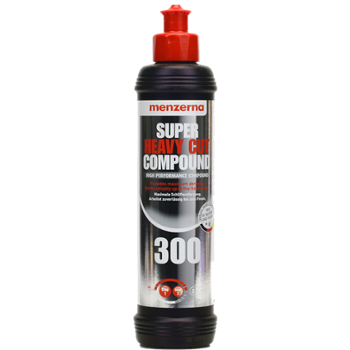 MENZERNA 300 Super Heavy Cut Compound 250ml Najmocniej Tnąca Pasta Polerska