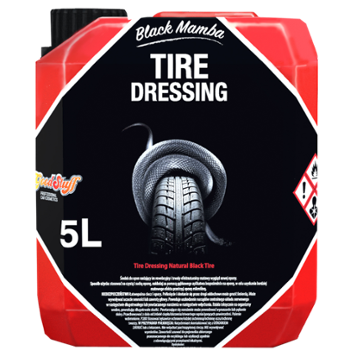 GOOD STUFF Black Mamba Tire Dressing 5l Matowy Dressing do Opon