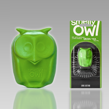 READYSTEADY Smelly Owl Green Tea Zapachowa Sówka 3D