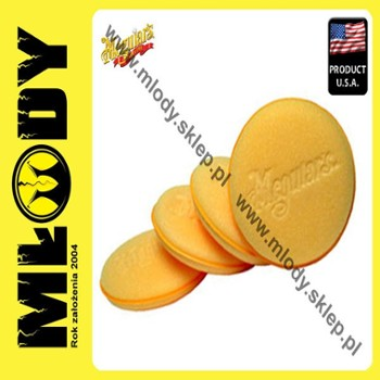 Meguiar's Soft Foam Applicator Pad Żółty Aplikator 4szt