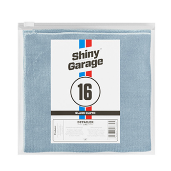 SHINY GARAGE Glass Cloth 35x35cm Szmatka do Szyb