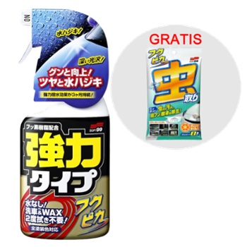 SOFT99 Zestaw Fukupika Spray Strong Type 400ml + Fukupika Bugs & Droppings Removal