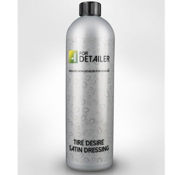 4DETAILER Tire Desire Satin Dressing 1l Satynowy Dressing do Opon