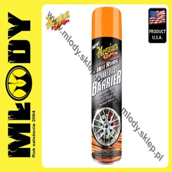 Meguiar's Hot Rims Brake Dust Barrier 255g Aerozol do Zabezpieczania Felg