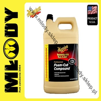 Meguiar's Foam Cut Compound 101 3,78l Pasta Polerska Mocno Ścierna