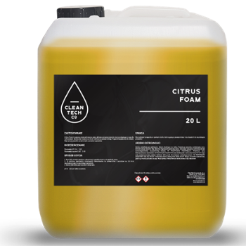 CLEANTECH CO Citrus Foam 20l Aktywna Piana