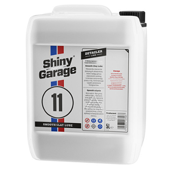 SHINY GARAGE 11 Smooth Clay Lube 5l Lubrykant pod Glinkę