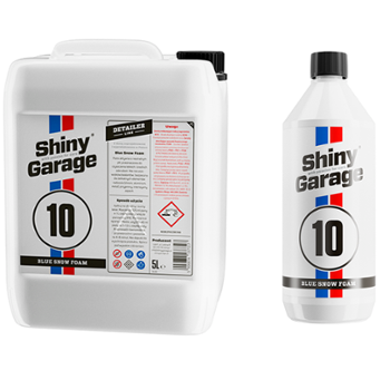 SHINY GARAGE Zestaw Blue Snow Foam 5L + Blue Snow Foam 1L