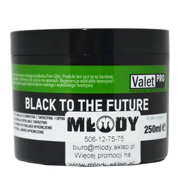 ValetPRO Black to The Future 250ml Dressing do Plastików i Opon