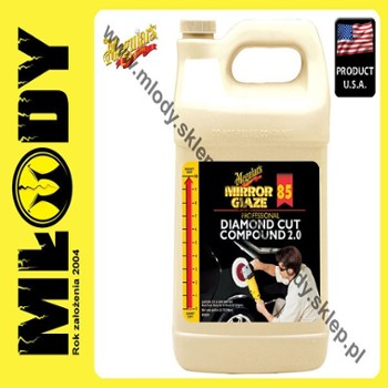 Meguiar's Diamond Cut Compound 2.0 85 3,78l Pasta Polerska Mocno Ścierna