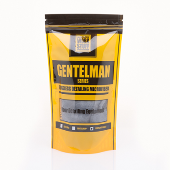 WORK STUFF Gentleman Basic Dark Grey 350gsm 40x40cm Mikrofibra Bezszwowa Szara