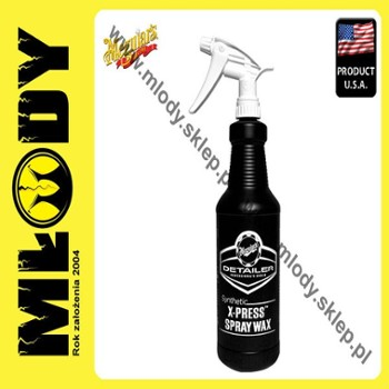 Meguiar's Seconary Bottle - Synthetic X-press Spray Wax Pusta Butelka 0,945l
