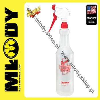 Meguiar's Mirror Glaze Spray Bottle Butelka z Atomizerem 0,945l