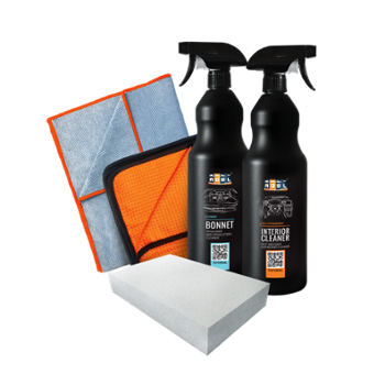 ADBL Zestaw Bonnet 1l + Interior Cleaner 1l + Dodger + Goofer 35x35cm + Magic Sponge