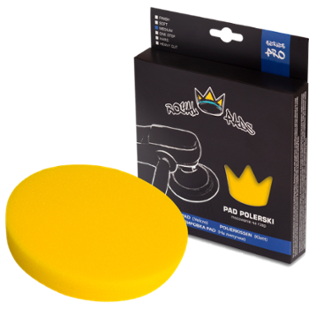 ROYAL PADS Pro Medium Pad Polishing 150mm Pad Żółty Średnio Twardy