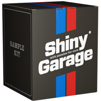 SHINY GARAGE Sample Kit 4x250ml + Akcesoria