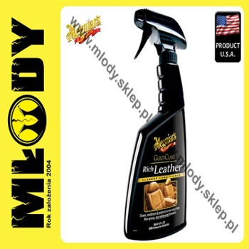 Meguiar's Gold Class Rich Leather 450ml Spray Środek do Pielęgnacji Skóry