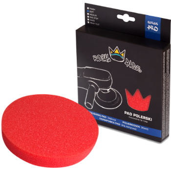 ROYAL PADS Pro Soft Pad Polishing 150mm Pad Czerwony Miękki