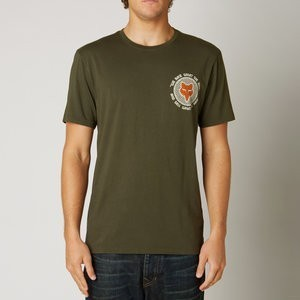 KOSZULKA T SHIRT FOX FIRST RACE ARMY M