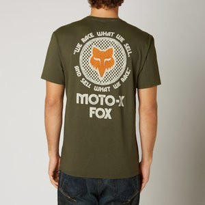 KOSZULKA T SHIRT FOX FIRST RACE ARMY XL