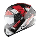 KASK LS2 FF350.1 ACTION WHITE RED L