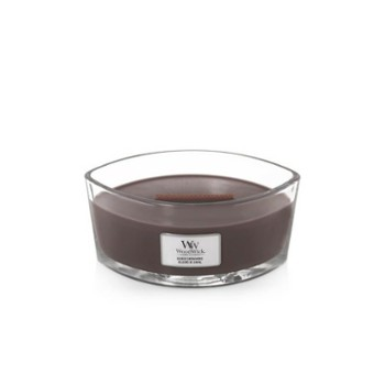 WoodWick Świeca elipsa SUEDED SANDALWOOD