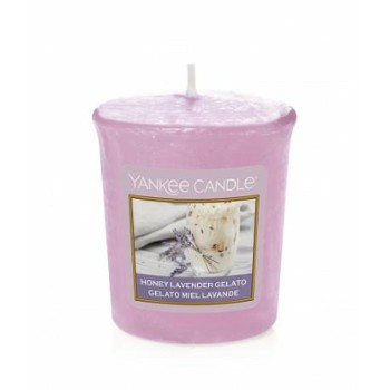 Votive Honey Lavender Gelato