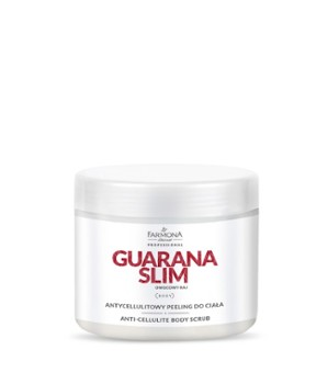 GUARANA SLIM Antycellulitowy peeling do