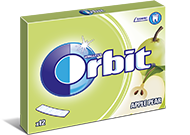 Orbit 12 listków Apple Pear /10/