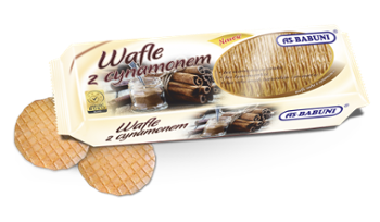 Wafle z cynamonem AS-Babuni 100g /20/