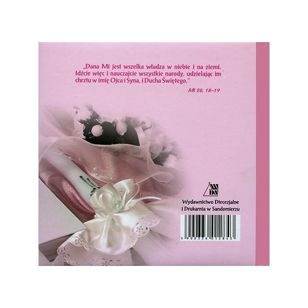 b69890c4514a64 Pięknie wydana Pamiątka Chrztu świętego. Dostępna w dwóch kolorach - dla  chłopców i dla dziewczynek.