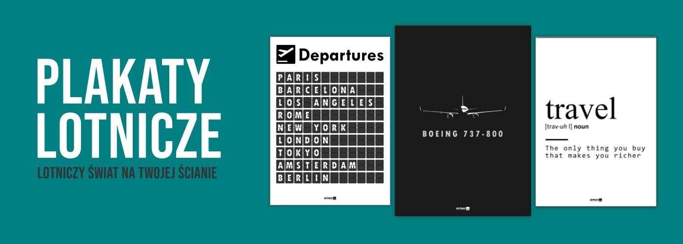 plakaty lotnicze
