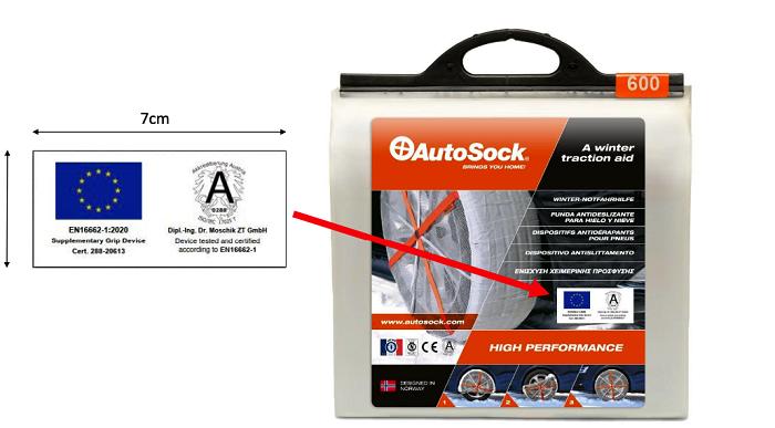Certyfikat Autosock
