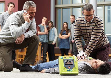 Defibrylatory AED Zoll
