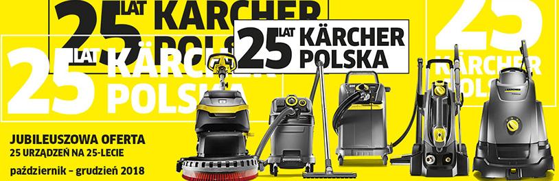 KARCHER CENTER FORTECH - Promocja jubileuszowa 25 lat KARCHER w Polsce.