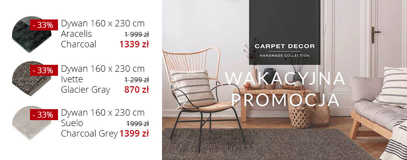Wakacyjna promocja Carpet Decor