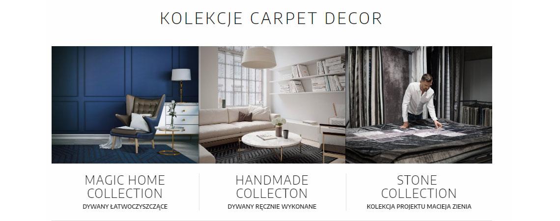Poznaj kolekcję Carpet Decor