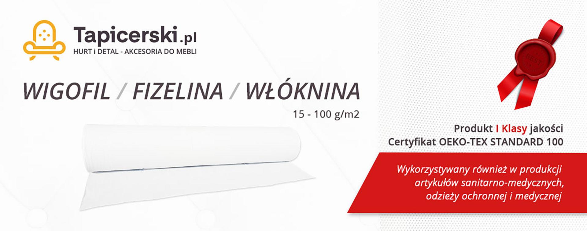 Wigofil Fizelina Włóknina - Tapicerski.pl