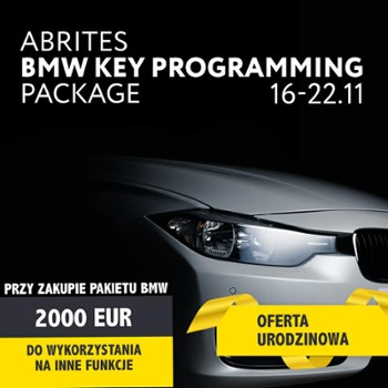 PAKIET BMW KEY PROGRAMMING