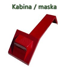 KABINA MASKA CASE NEW HOLLAND