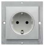 8639204 IPL Power Socket D white
