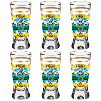 Kieliszki Shot glass tulip