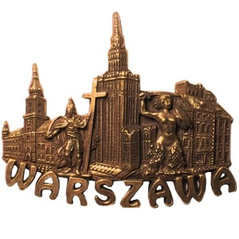 Metal magnet (copper) Warsaw