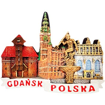 Collage (contur). Gdansk.