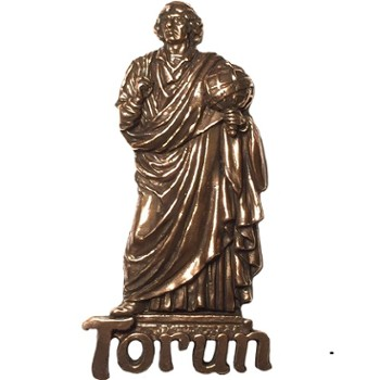 Metal magnet (copper) Torun