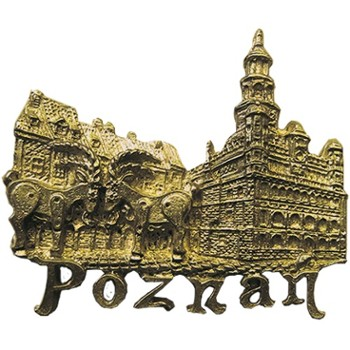 Metal magnet (bronze) POL-MM-104 Poznan