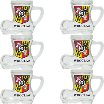 Kieliszki Shot glass boot